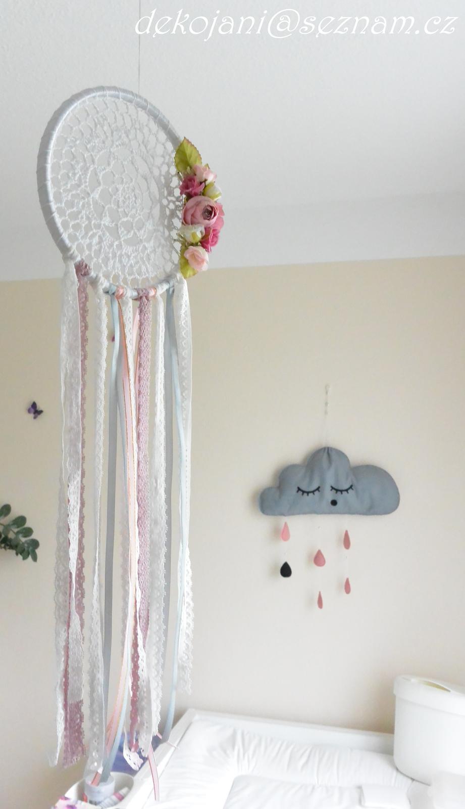 Dekorativní lapač snů - Obrázek č. 1