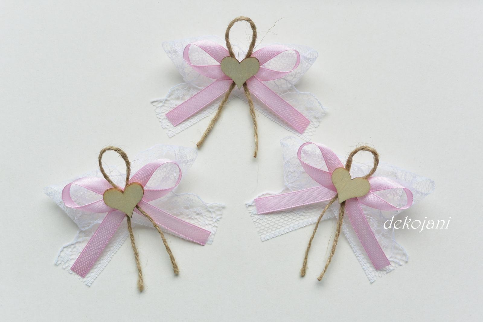 Mint růžový vývazek - Obrázek č. 2