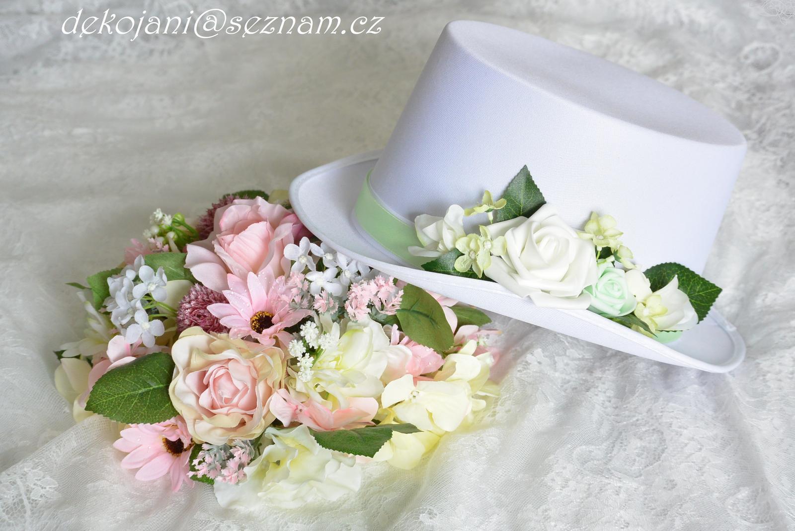 Luxusní buket na svatební auto - Obrázek č. 1
