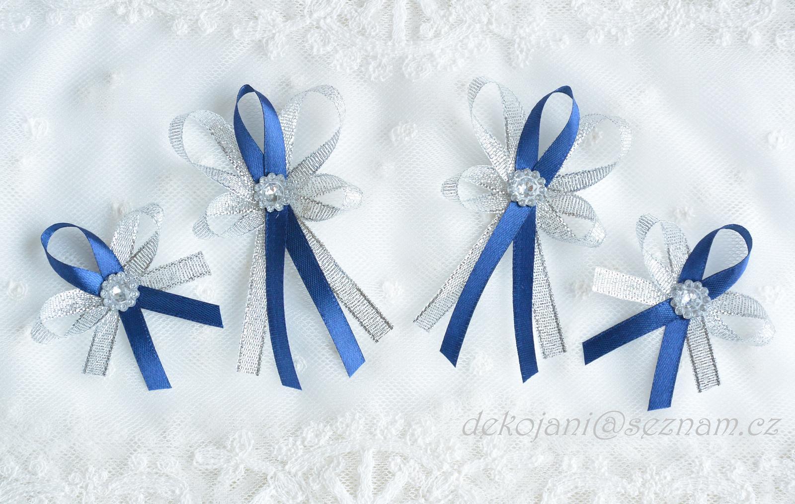 Námořnicky modré vývazky - Obrázek č. 1