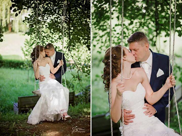 Svadobné šaty veľkosť 38 až 42 - Obrázok č. 1