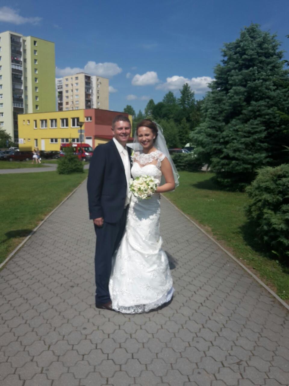 Svadobné šaty veľkosť 38 až 42 - Obrázok č. 2
