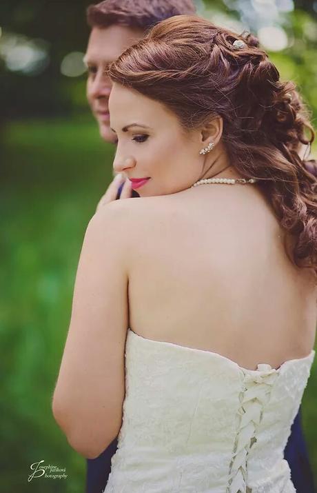 Svadobné šaty veľkosť 38 až 42 - Obrázok č. 3