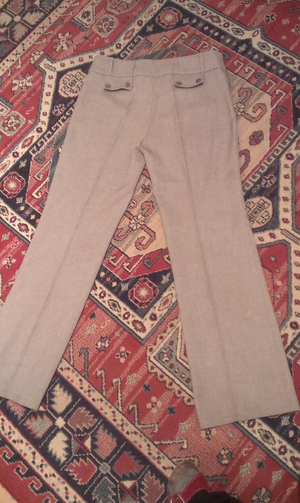 Letné elegantné nohavice - Obrázok č. 1