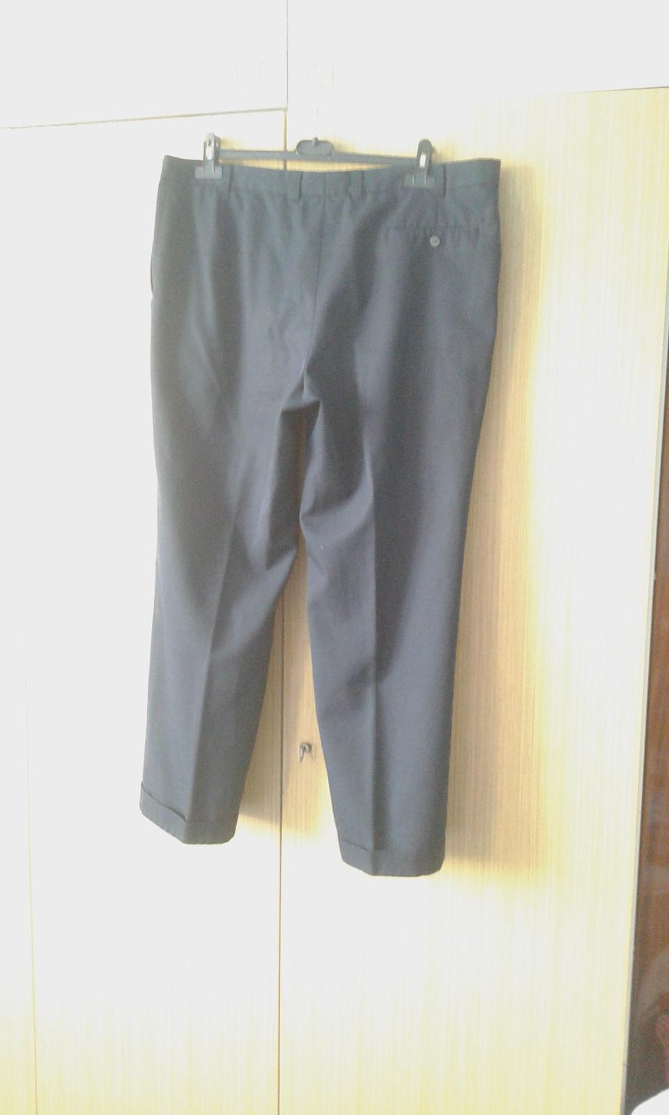 Pánske oblekové nohavice - Obrázok č. 3