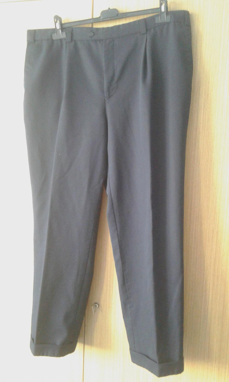 Pánske oblekové nohavice - Obrázok č. 1