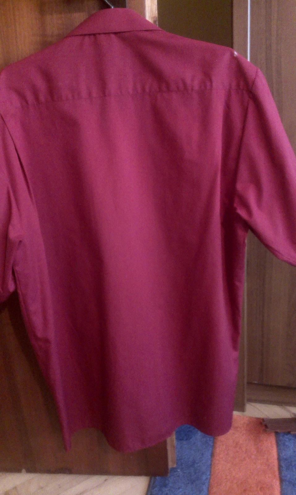 Bordová košeľa - Obrázok č. 2