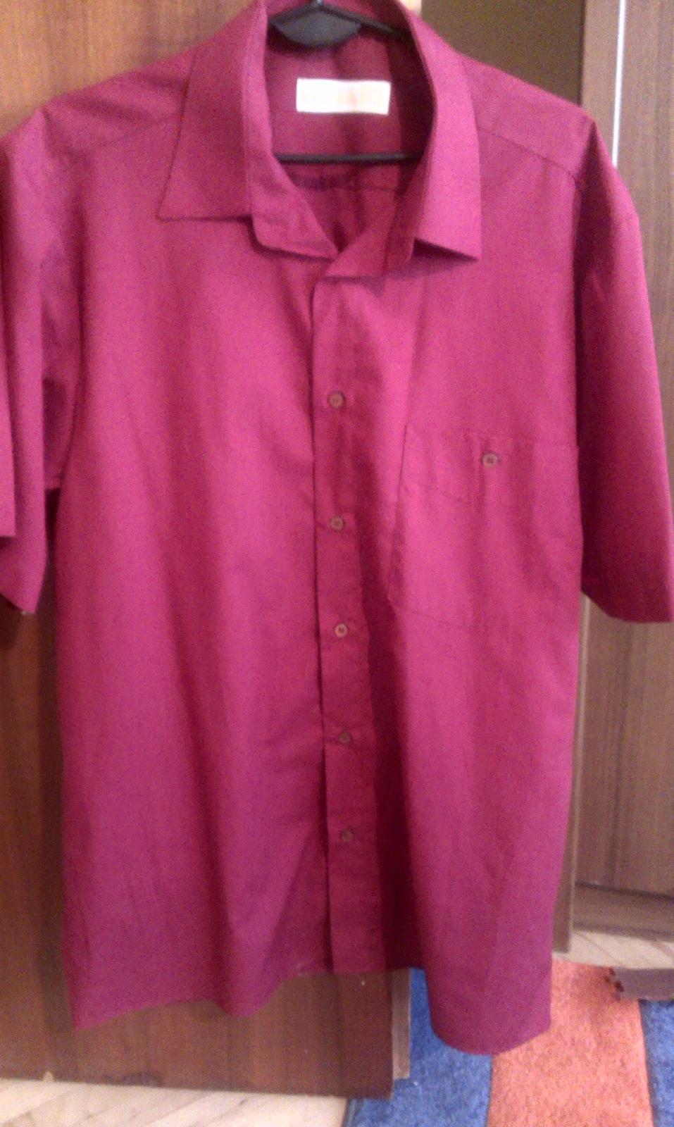 Bordová košeľa - Obrázok č. 1