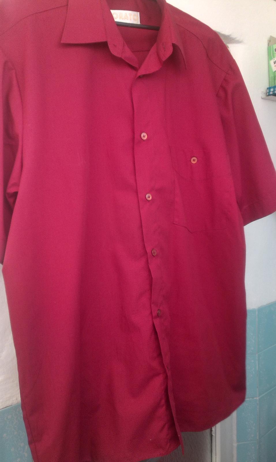 Bordová košeľa - Obrázok č. 4