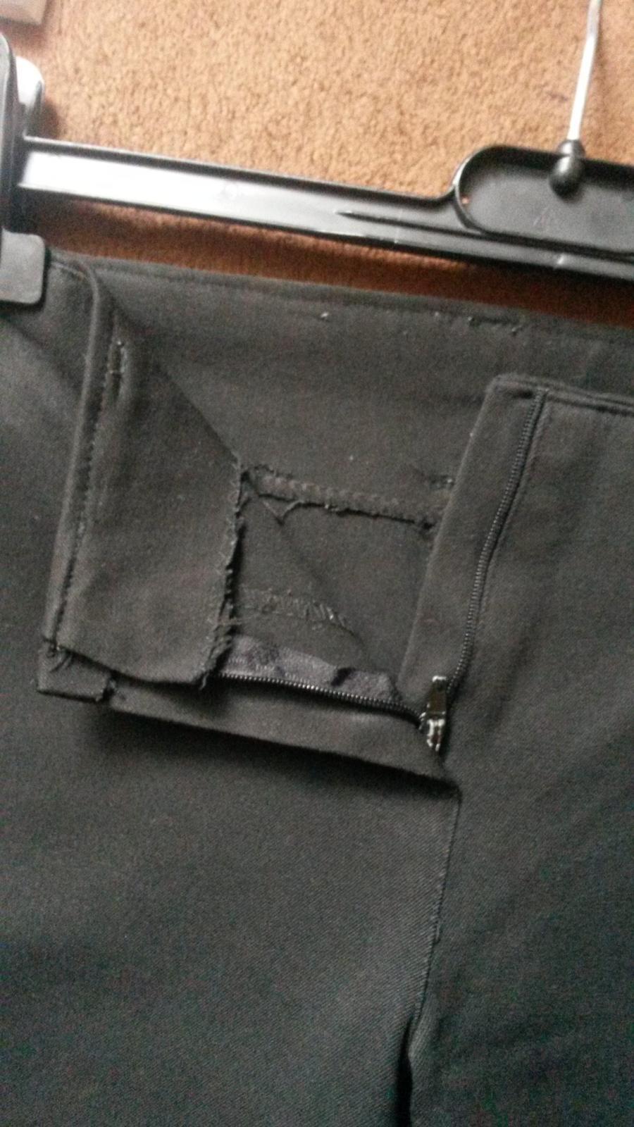 Nohavice bez pásu - Obrázok č. 3