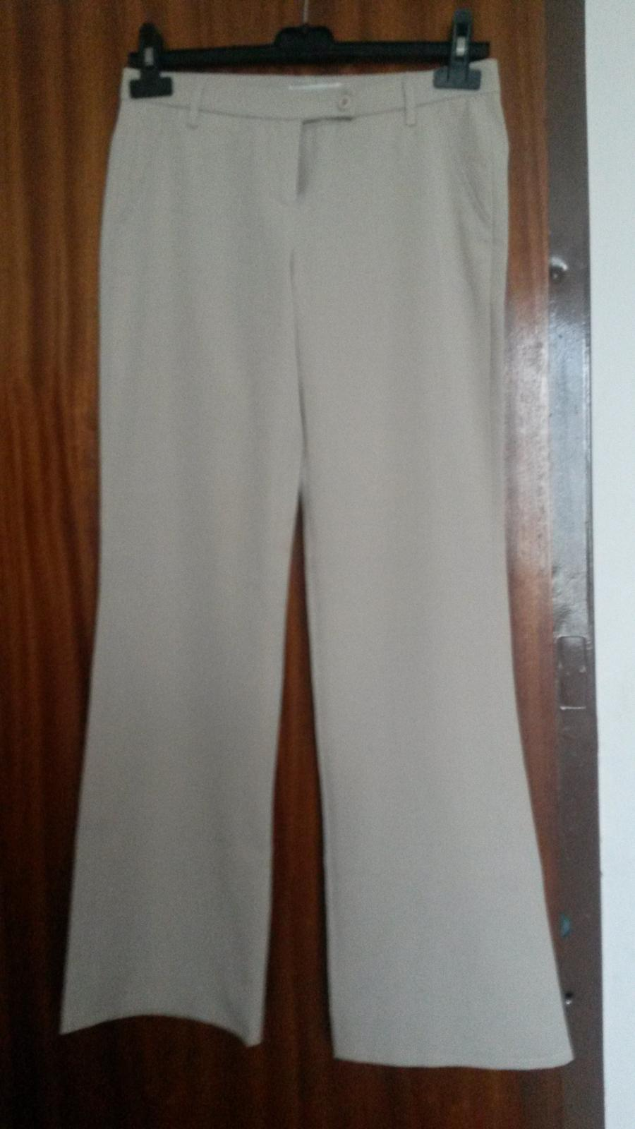 Krémové nohavice - Obrázok č. 1