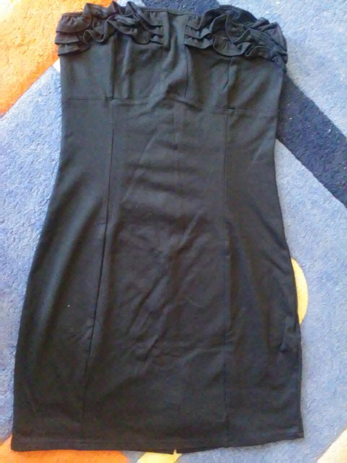 Čierne nenosené šaty - Obrázok č. 1