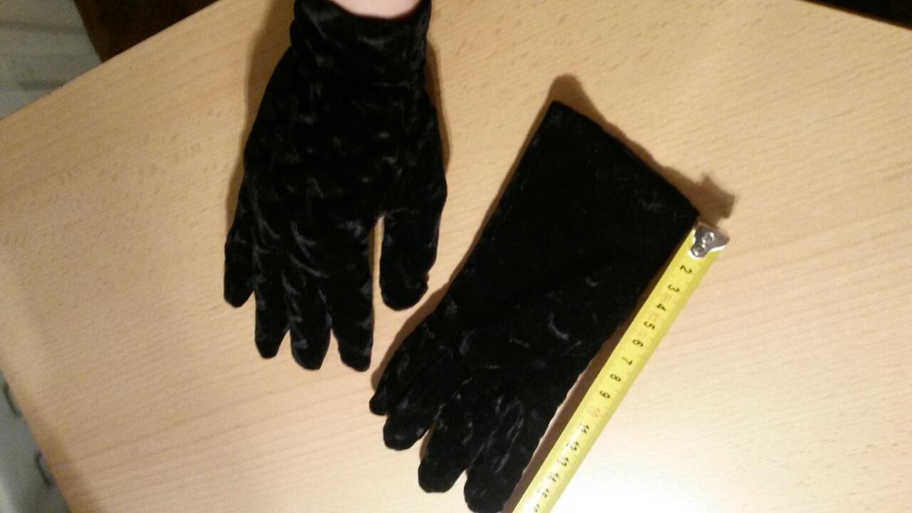 Zamatové rukavičky - Obrázok č. 1