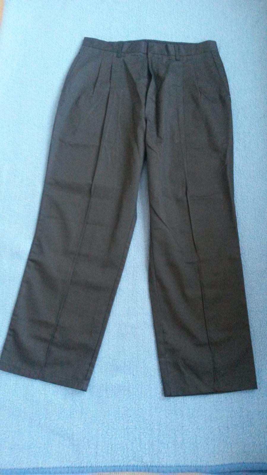 Pracovné čierne nohavice - Obrázok č. 1