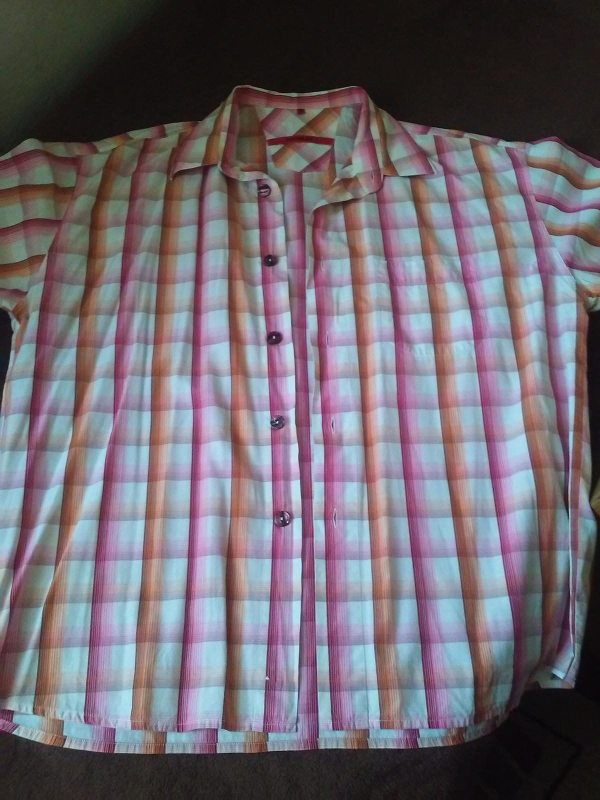 Košeľa s krátkym rukávom  - Obrázok č. 1