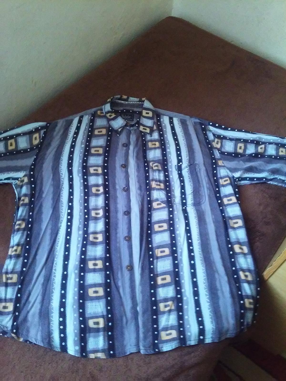 Vzorovaná košeľa - Obrázok č. 1