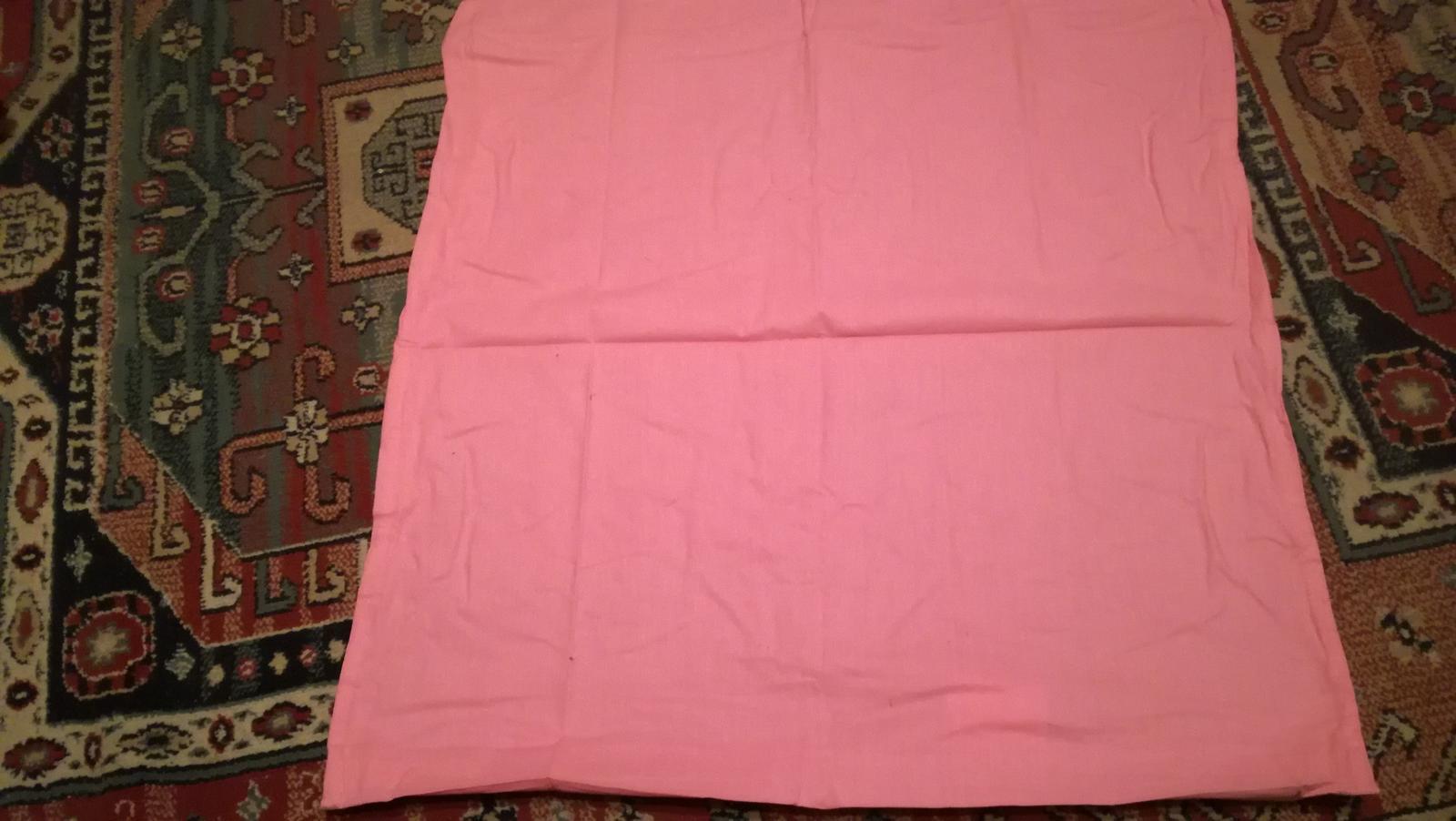 Posteľné bavlnené oblečenie na vankúš - Obrázok č. 1