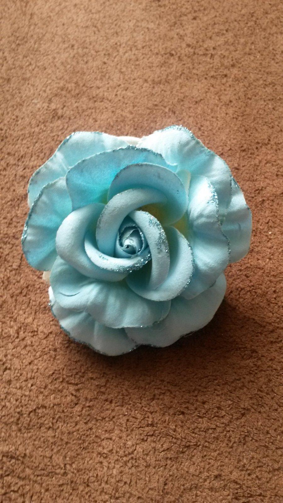 Modrá ružička - Obrázok č. 1