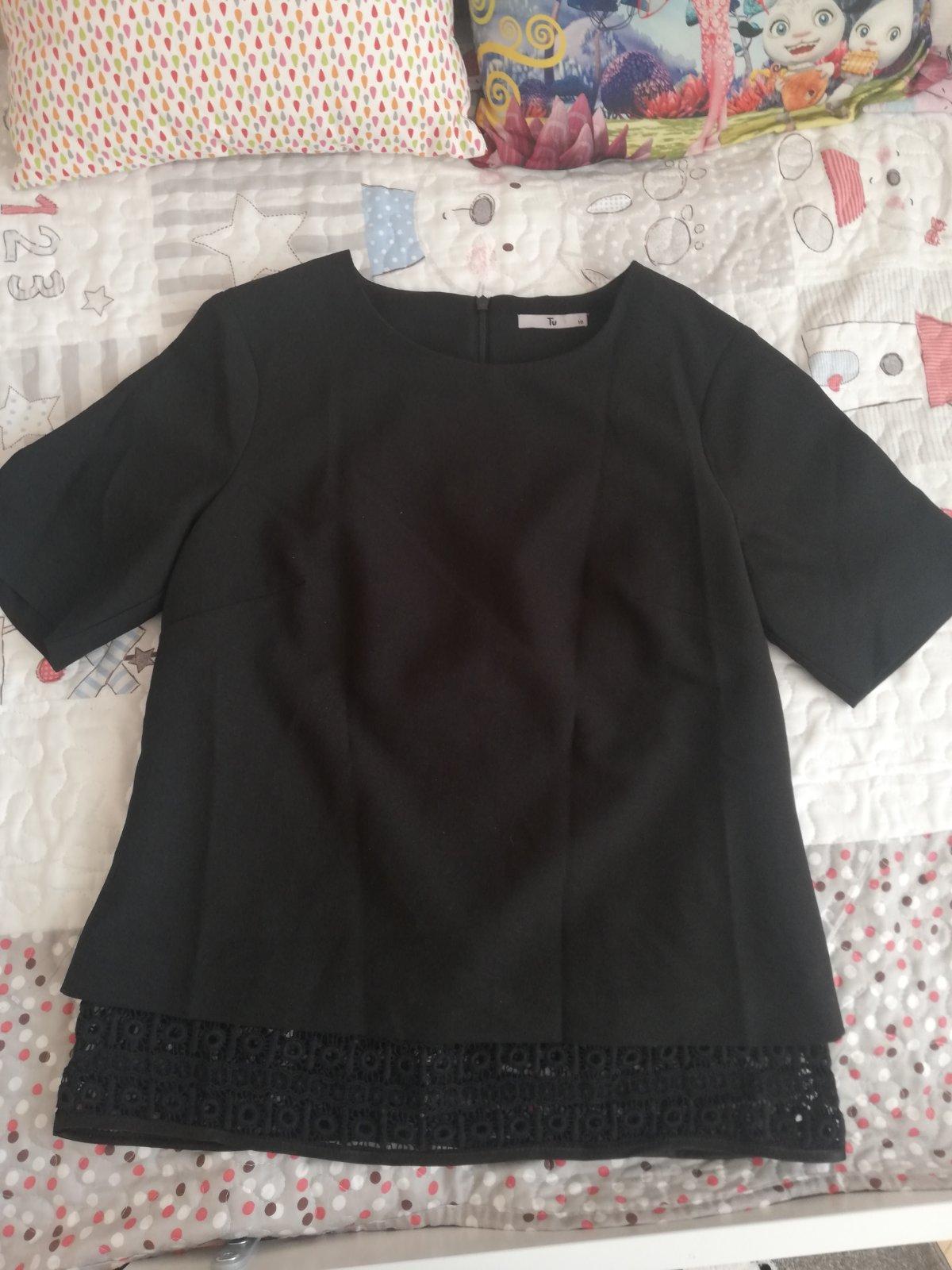Cierna bluzka - Obrázok č. 1