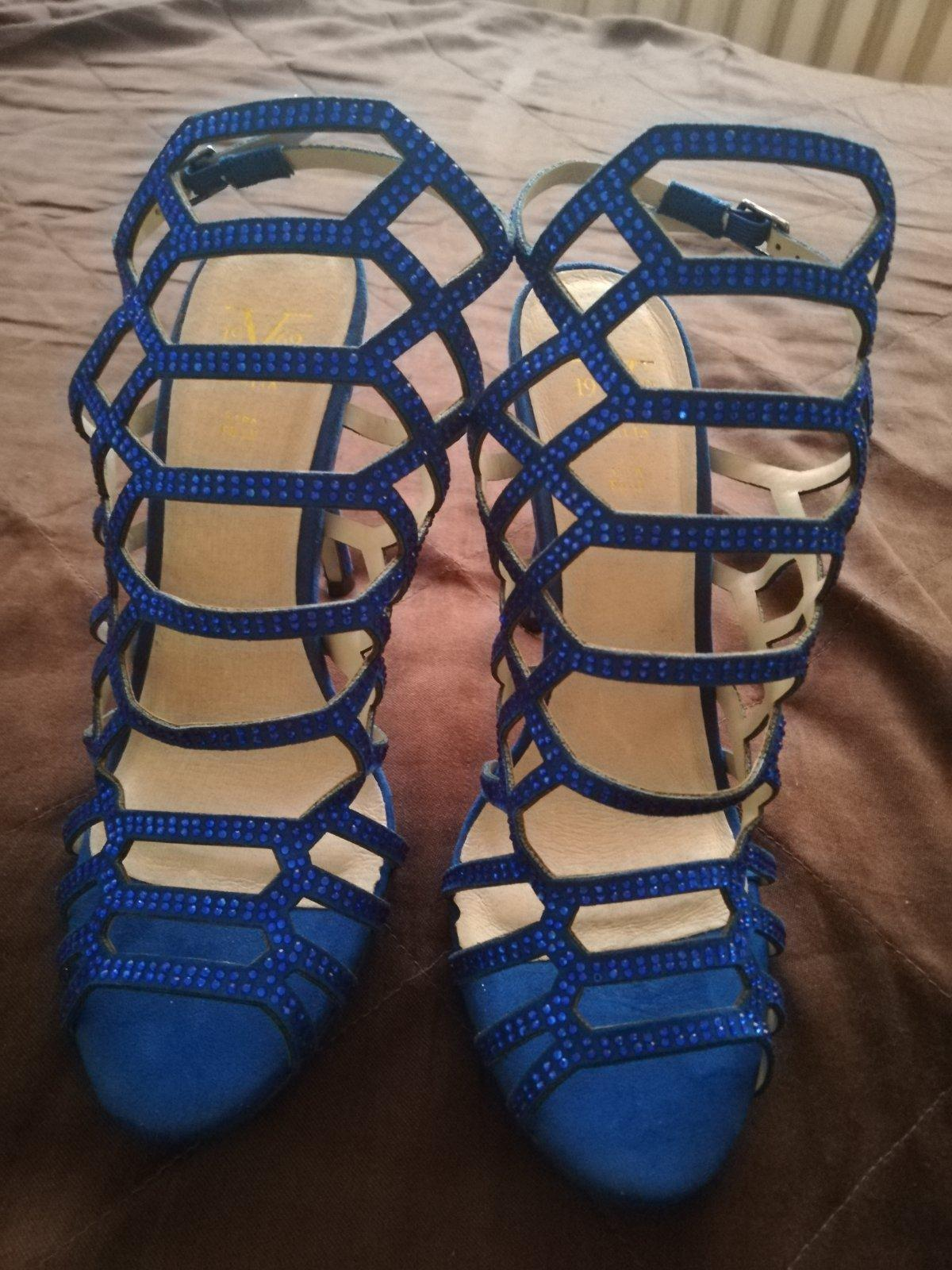 Sandalky kralovska modra - Obrázok č. 2