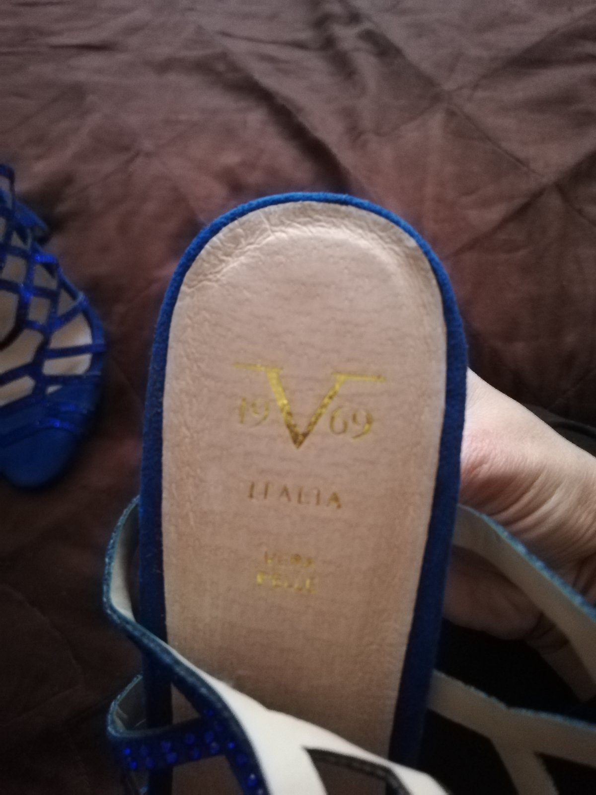 Sandalky kralovska modra - Obrázok č. 4