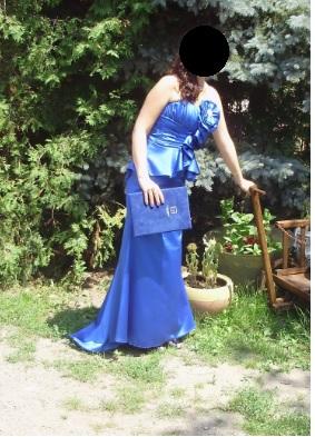 Dlhe spolocenske saty- kralovska modra - Obrázok č. 3