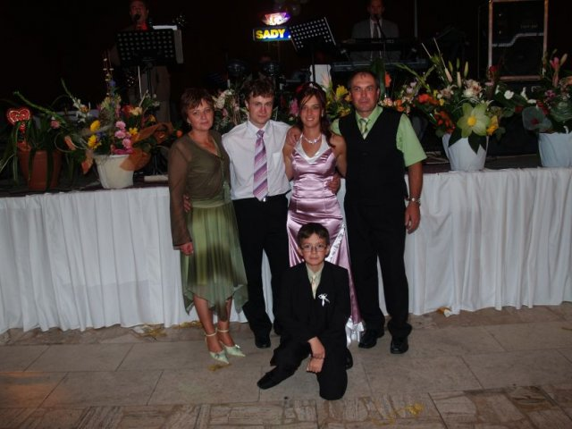 Michaela Cirnerová{{_AND_}}Martin Pillár - s rodicmi