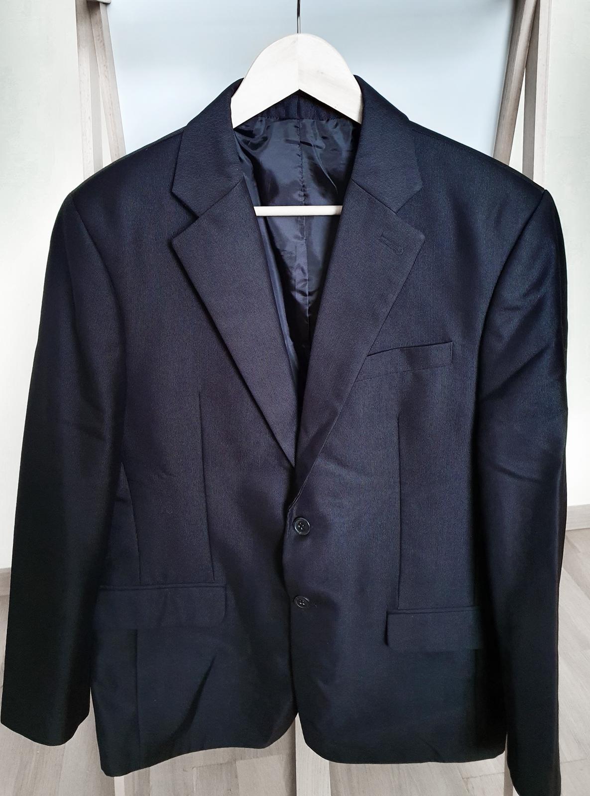Pánsky oblek čierny - Obrázok č. 1