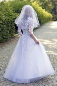 Luxusní svatební šaty - 40 (42), 40