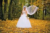 Princeznovské kamienkové svadobné šaty, 36
