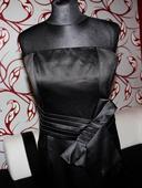 Pouzdrové černé šaty společenské vel. 40, 40