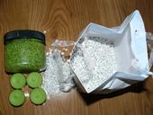 Zelené kamínky 600 g,