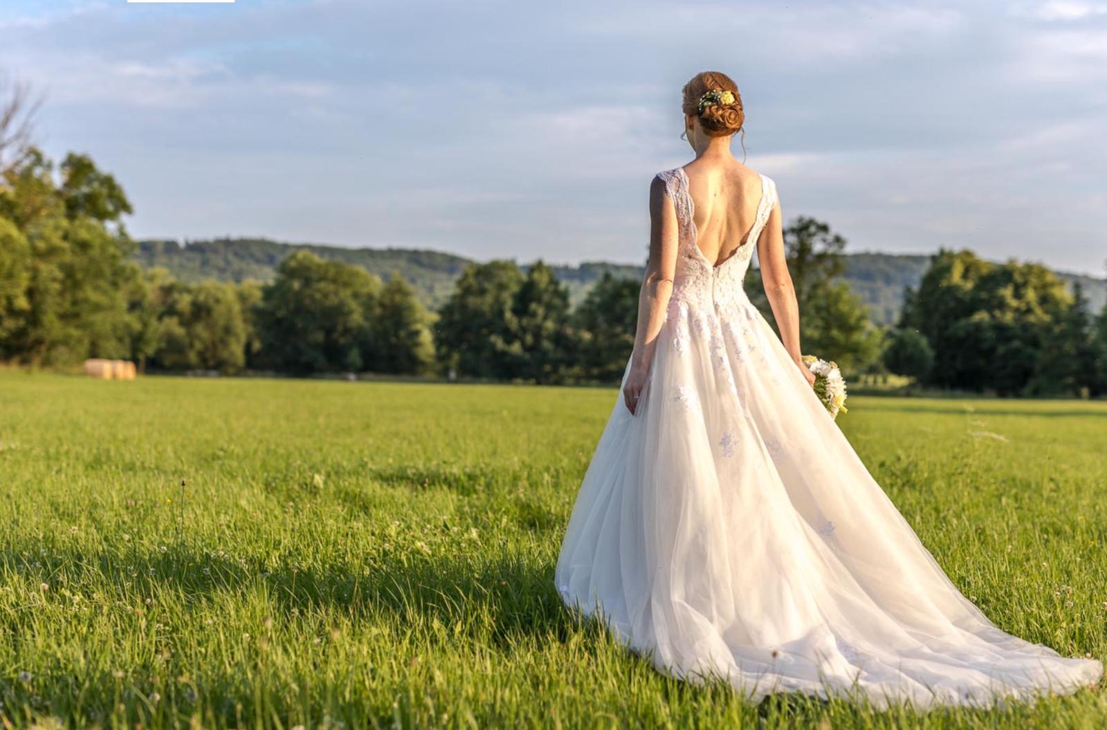 Luxusní svatební šaty Pronovias - Obrázek č. 1