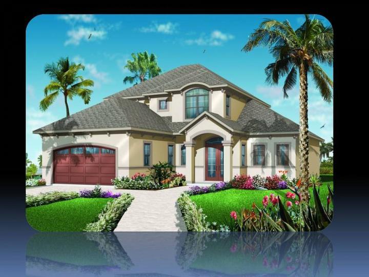 Toto bude náš domešek:)) - vonkajší vzhľad bude iný...obložený kameňom alebo tehlou a iná strecha..