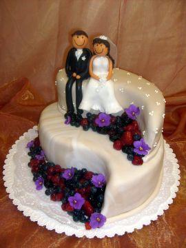 Zuzana a Martin - táto tortička je nádherná