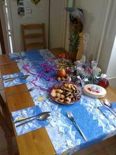 náš vianočný stôl..
