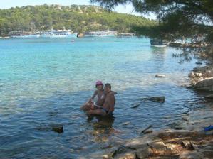 ...tak na tejto fotke sme uz traja a ani o tom nevieme....Chorvatsko