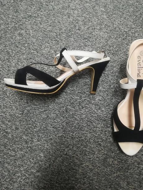 Společenské dámské sandálky Eveline, vel. 39 - Obrázek č. 1