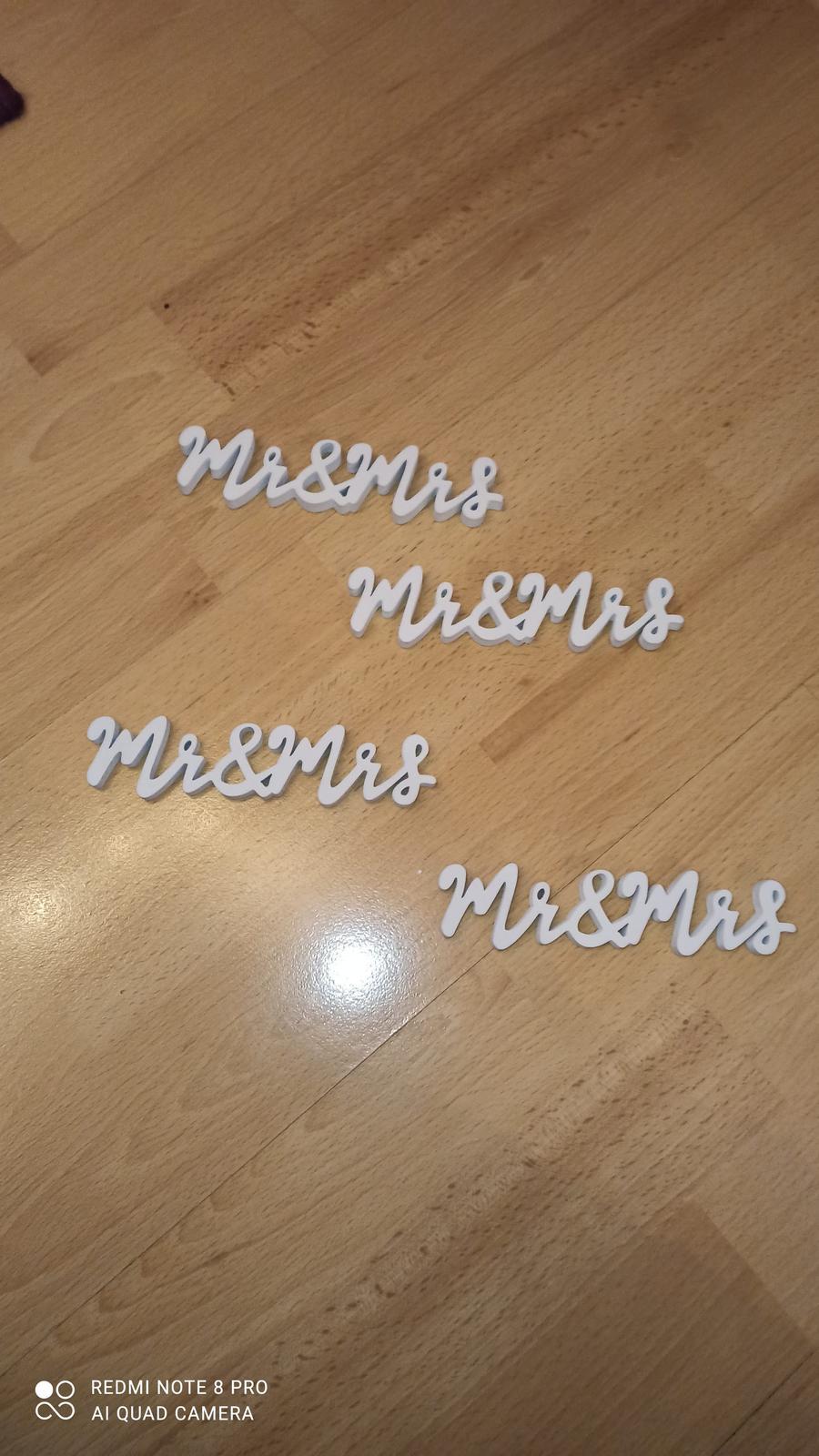 Nápisy MR a MRS - Obrázek č. 1
