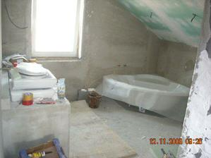 naša úžasná kúpeľňa :-)