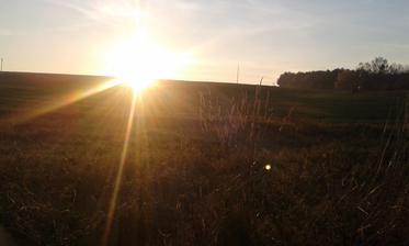 Západ Slnka zo zadnej terasy 😀