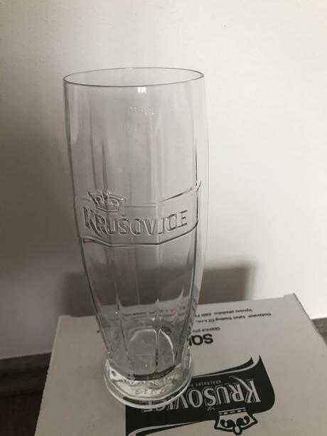 Pivní sklo Krušovice - Obrázek č. 1