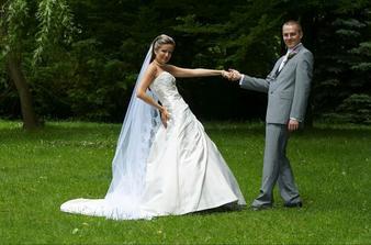 S novomanželem :)))