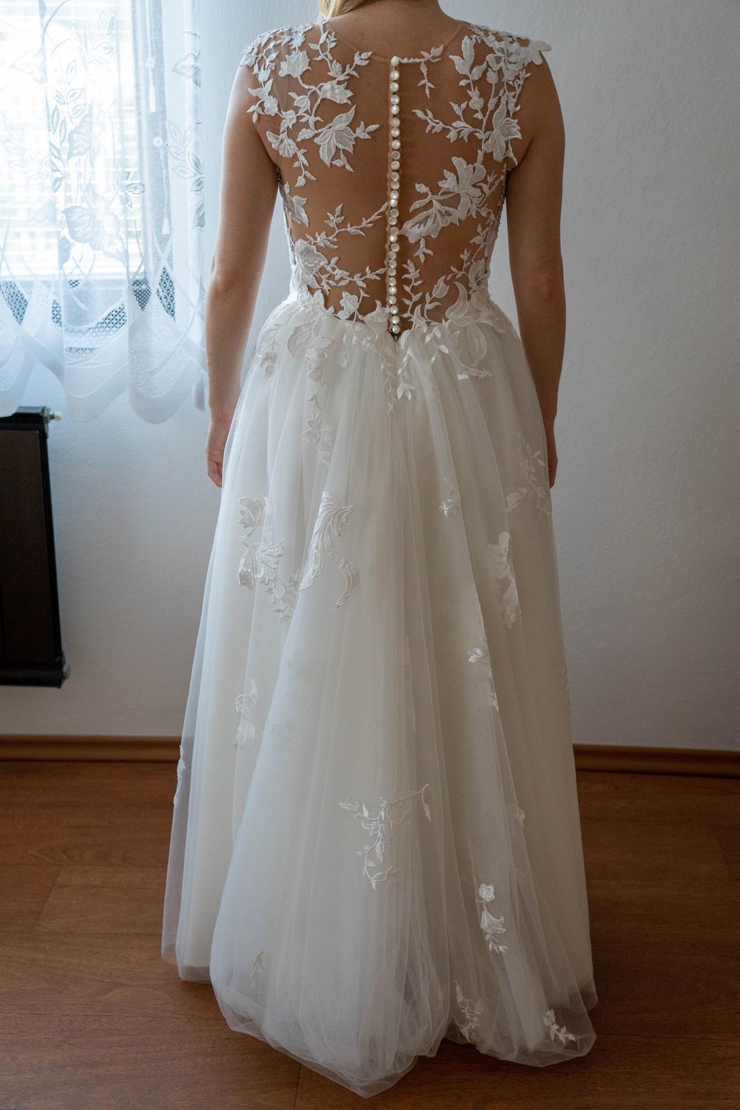 svatební šaty (vel. 36-40 ) - Obrázek č. 3
