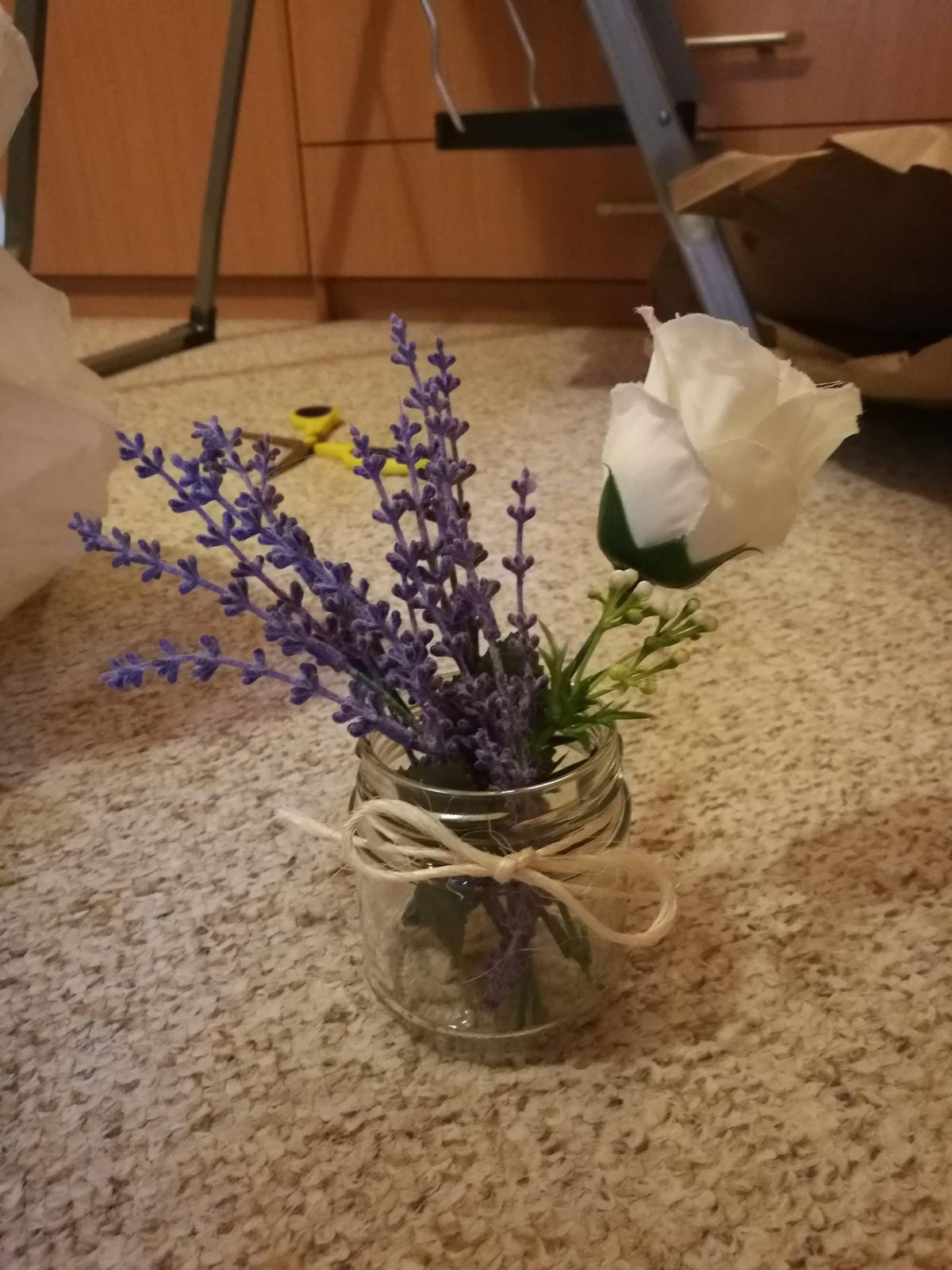 skleničky na svíčku/kytičku - Obrázek č. 1