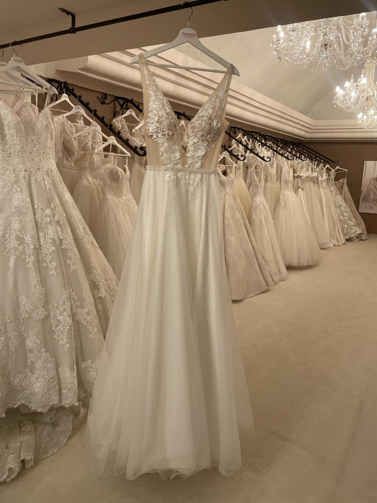 svadobné šaty 36 - Obrázok č. 1
