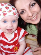 S dcerou SABINKOU, ktora je pre nas to najcennejsie