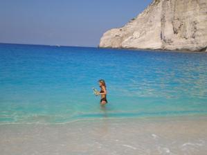 nádherná pláž Navagio