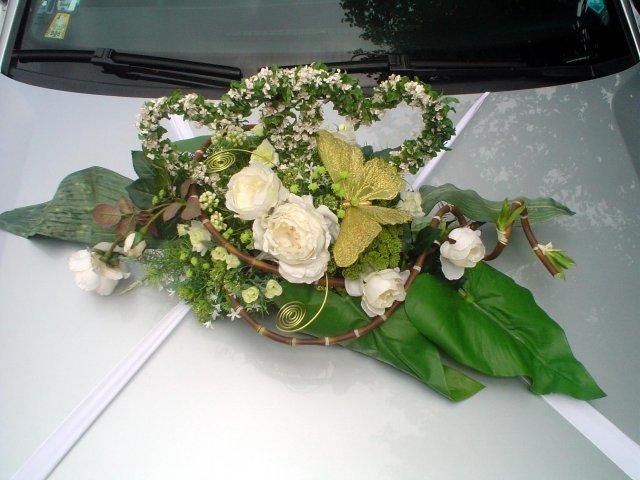 Vyzdoby svadobných  áut - Obrázok č. 42