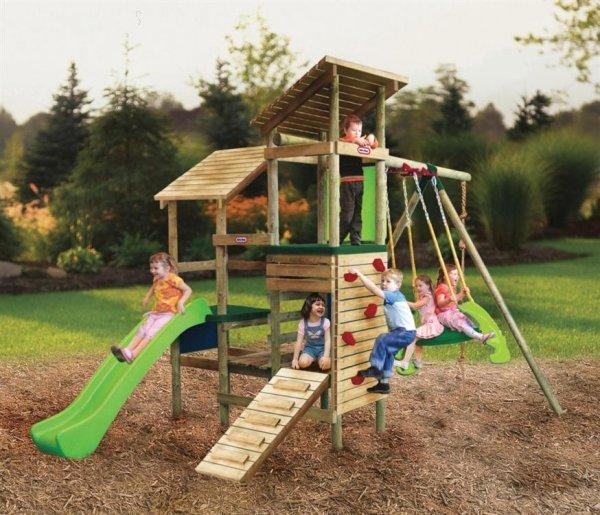 Zatiaľ len inšpirácie - ihrisko pre deti
